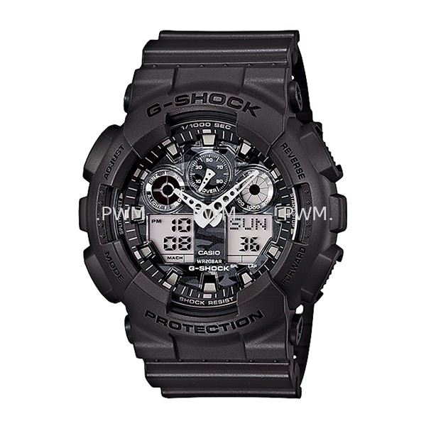 GSHOCK GA100CF-8A Standard Analog-Digital G-Shock Penang, Malaysia, Bayan Baru Watches, Supplier, Supply, Supplies | TYME®