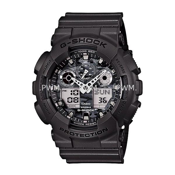 GSHOCK GA100CF-8A Standard Analog-Digital G-Shock Penang, Malaysia, Bayan Baru Watches, Supplier, Supply, Supplies | TYME®
