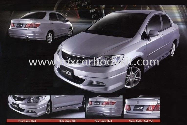 HONDA CITY 2006 MODULO BODYKIT WITH SPOILER  CITY 2006 HONDA Johor, Malaysia, Johor Bahru (JB), Masai. Supplier, Suppliers, Supply, Supplies | MX Car Body Kit