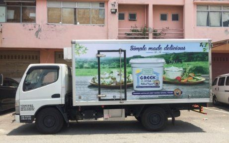 Lorry Advertising For Farmers Union 5 Tons box lorry body wrap Lorry Advertising Vehicle Advertising Malaysia, Selangor, Kuala Lumpur (KL), Puchong Services | AD-ON-BUS SDN BHD