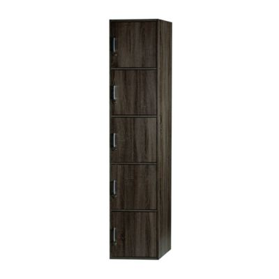 5 DOORS UTILITY SHELF WITH LOCK (MX SU500FL-SD)