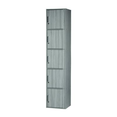 5 DOORS UTILITY SHELF WITH LOCK (MX SU500FL-GL)