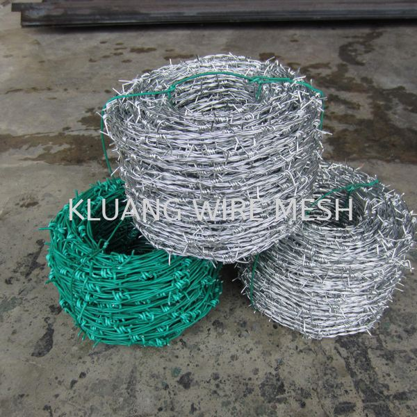 PVC Barbed Wire PVC Barbed Wire Johor, Malaysia, Kluang Supplier, Suppliers, Supply, Supplies | Kluang Wire Mesh (M) Sdn Bhd
