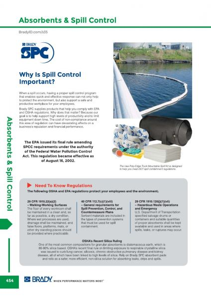 Introduction SPC Absorbent & Spill Control Malaysia, Johor Bahru (JB) Supplier, Suppliers, Supply, Supplies   GMO Solution Sdn. Bhd.