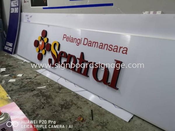 Pelangi Damamsara Sentral Center 3D LED Box Up Lettering Signage in Damansara Kuala Lumpur 3D BOX UP LED SIGNAGE Klang, Selangor, Malaysia, Kuala Lumpur (KL) Manufacturer, Maker, Supplier, Supply   Dynasty Print Solution