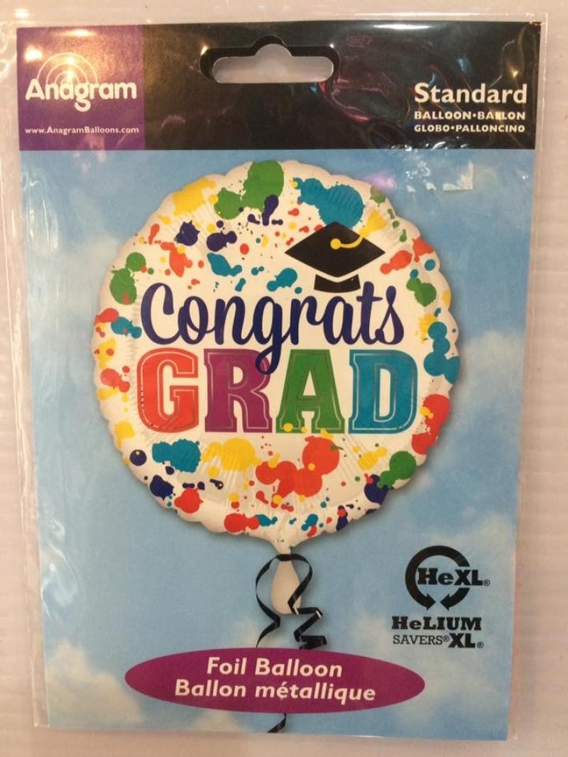 18 inch Angaram Congratulation & Graduation Foil Baloon