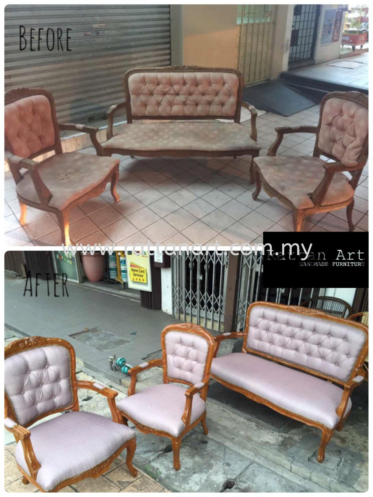 Repair Wooden Chair And Upholstery Sofa