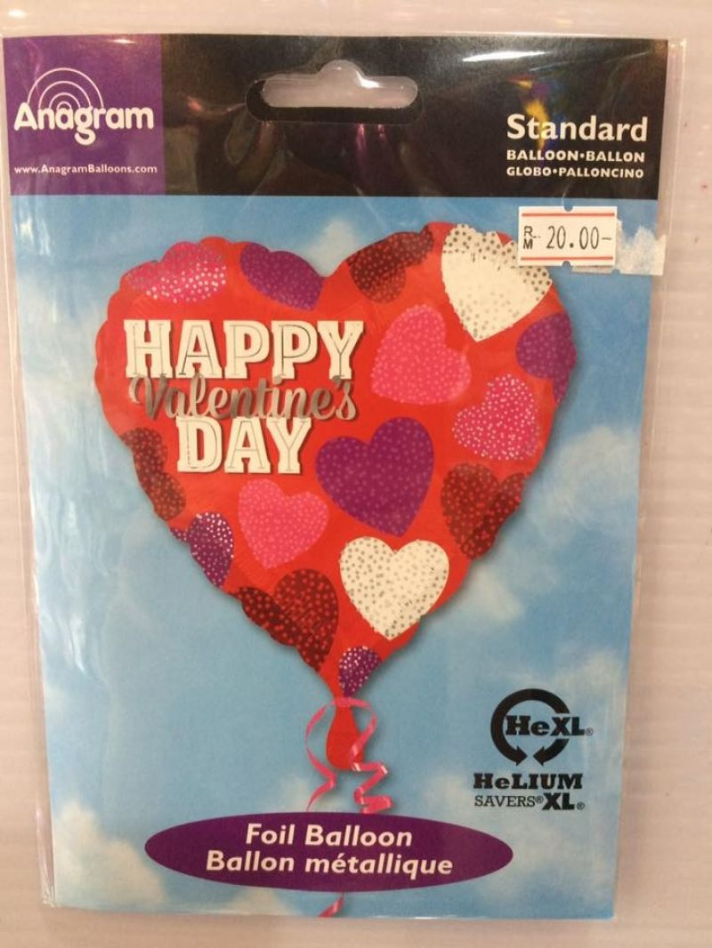 18 Inch Anagram Valentine's Day Foil Balloon