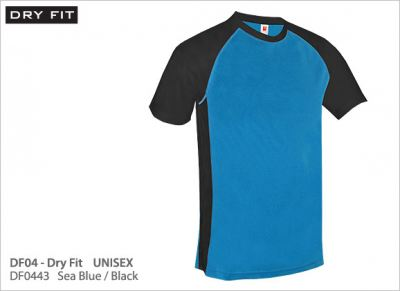 DF0443 Sea Blue/Black