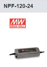 MW MEAN WELL NPF-120-24V POWER SUPPLY LED DRIVER