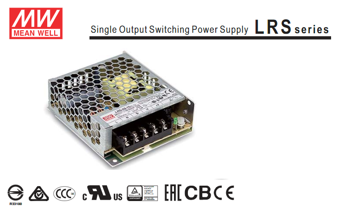 MW MEAN WELL LRS MODELS - LED DRIVER OR POWER SUPPLY