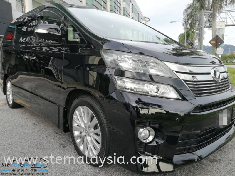 Toyota Vellfire After 3 month Come Back For Coating Maintainence , Looking Shine & Bright Done . Toyota Completed Job STE Coating Penang, Malaysia, Bayan Lepas Car, Service | STE Auto Detailing Trading