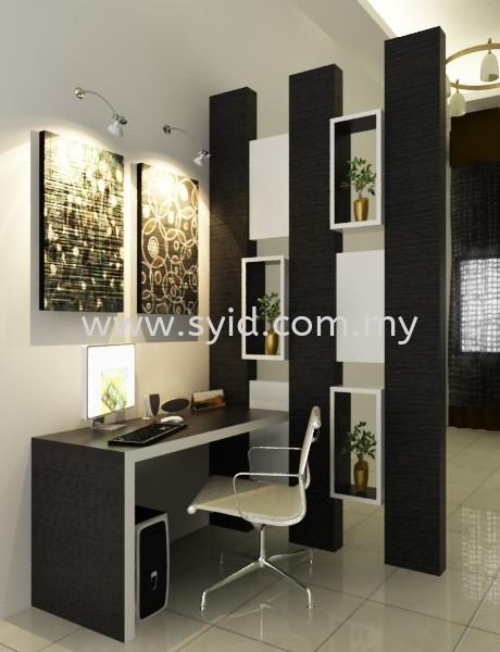 Living Hall Design Johor Bahru (JB), Skudai, Taman Universiti Contractor, Service | SY Interior Design & Build