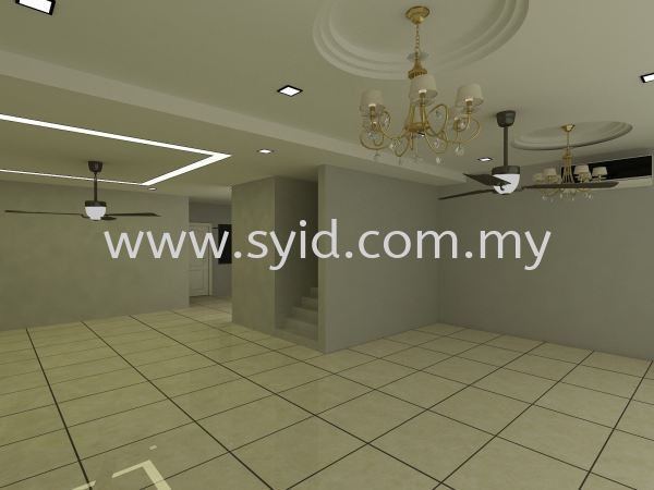 Tiles Flooring Design Johor Bahru (JB), Skudai, Taman Universiti Contractor, Service | SY Interior Design & Build