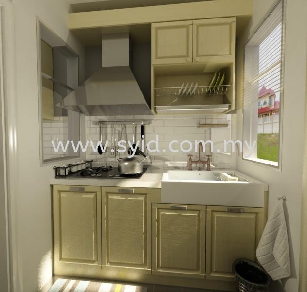 Wet/Dry Kitchen Design Johor Bahru (JB), Skudai, Taman Universiti Contractor, Service   SY Interior Design & Build