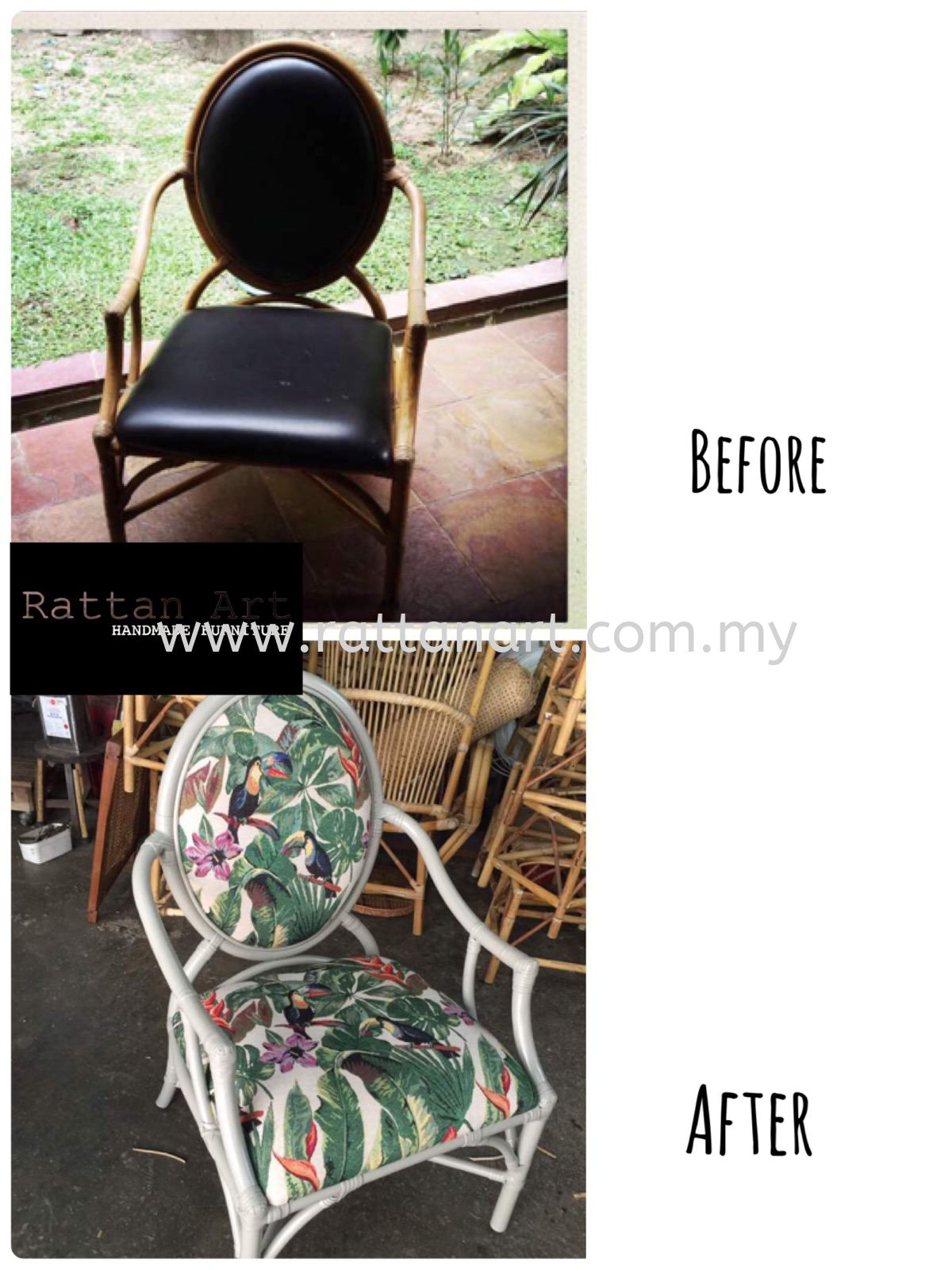 Repair Rattan Chair And Upholstery