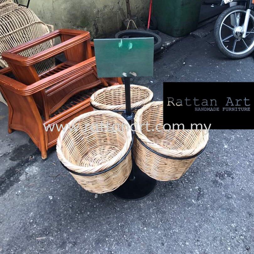 Custom Made Rattan Rack