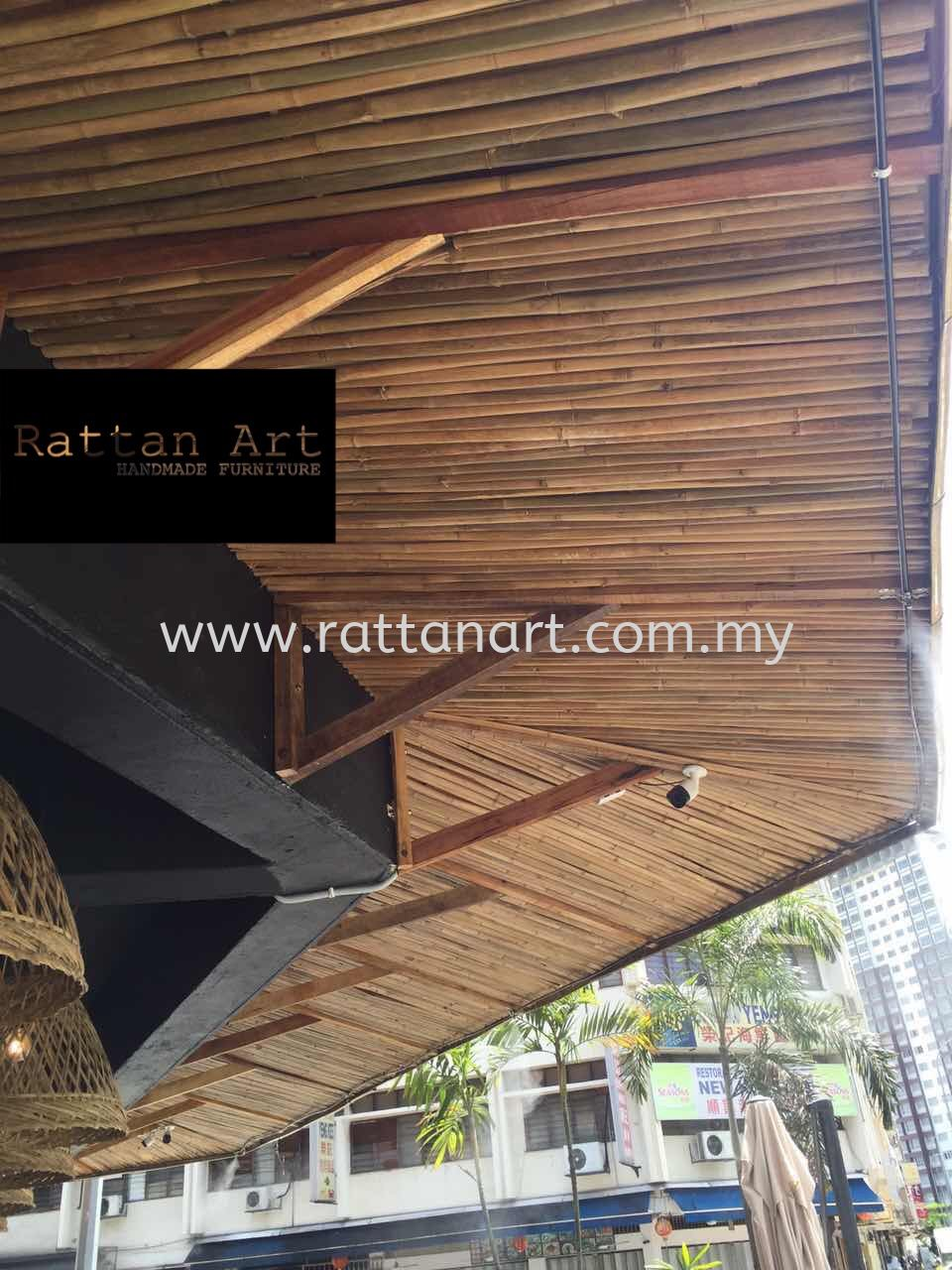 Custom Made Bamboo Roof
