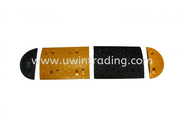 High Quality Rubber Speed Hump Speed Hump Traffic Control Products Johor Bahru (JB) Malaysia, Indonesia, Philippines & Vietnam Supply, Supplier   U Win Trading & Supply Sdn. Bhd.