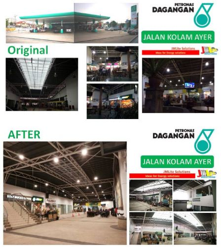 Petronas Common Ground Area at Jalan Kolam Ayer, Ampang Project Accomplished.