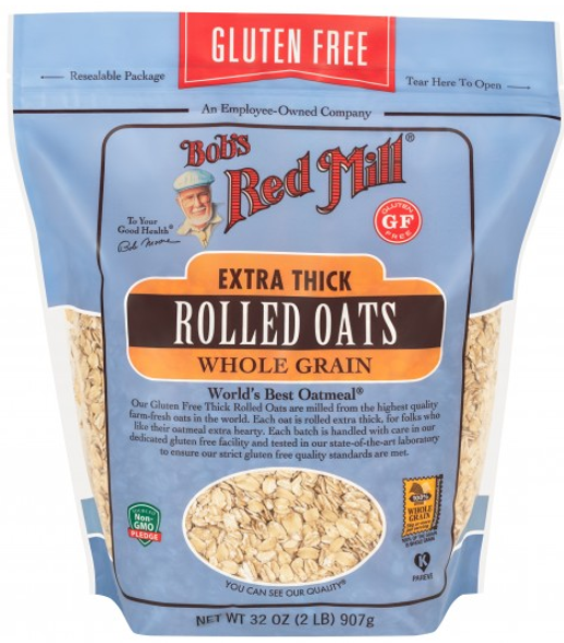 Gluten Free Thick Rolled Oats Oats, Cereal and Granola Bobs Red Mill Malaysia, Selangor, Kuala Lumpur (KL) Distributor, Wholesaler, Supplier, Supply   Ballun Distribution (M) Sdn Bhd