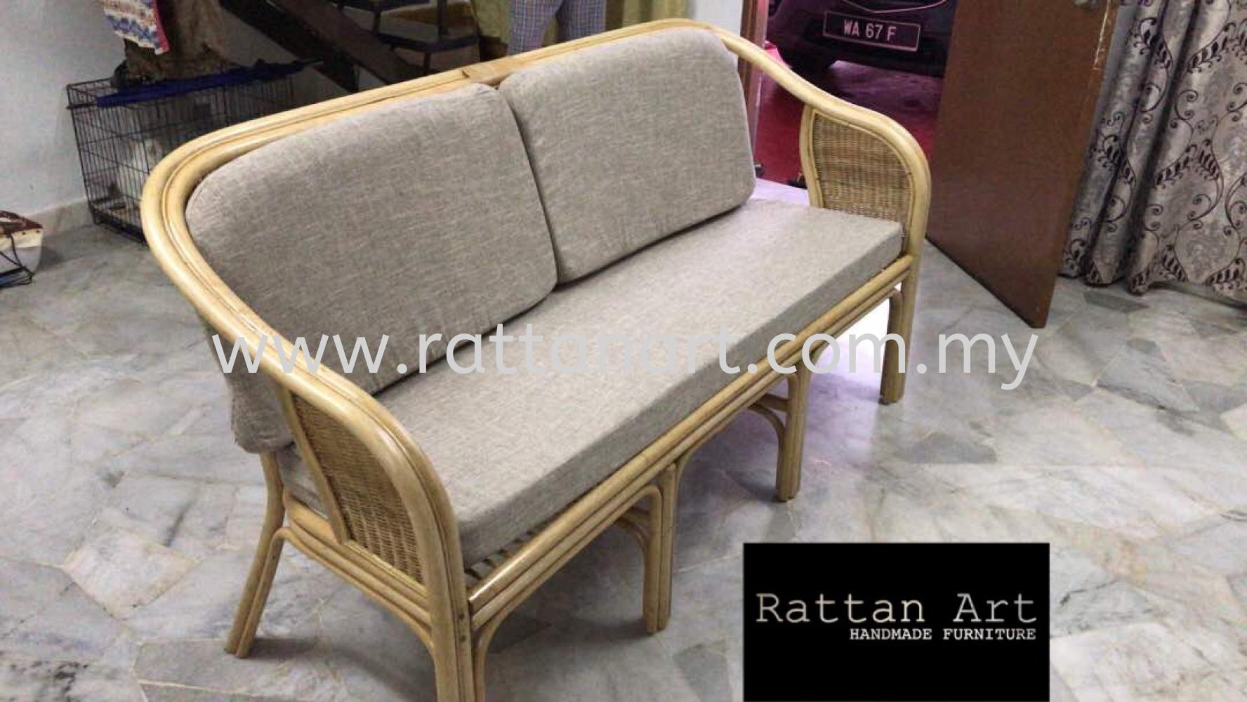 Custom Made Rattan Sofa Chair Repair, Malaysia, Kuala ...