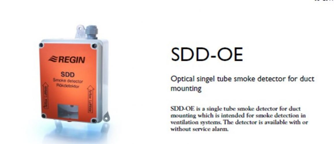 SDD-OE -Smoke detector for duct mounting