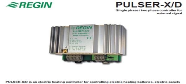 PULSER-X/D Electric heating controllers Regin Selangor, Petaling Jaya (PJ), Malaysia, Kuala Lumpur (KL) Supplier, Suppliers, Supply, Supplies | JTJ Technology Sdn Bhd