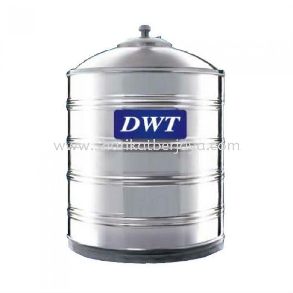 DWT VERTICAL FLAT BOTTOM WITHOUT STAND 304 STAINLESS STEEL WATER TANK DWT Stainless Steel Water Tank Plumbing Johor, Malaysia, Ayer Hitam Supplier, Wholesaler, Supply, Supplies   Sharikat Berjaya