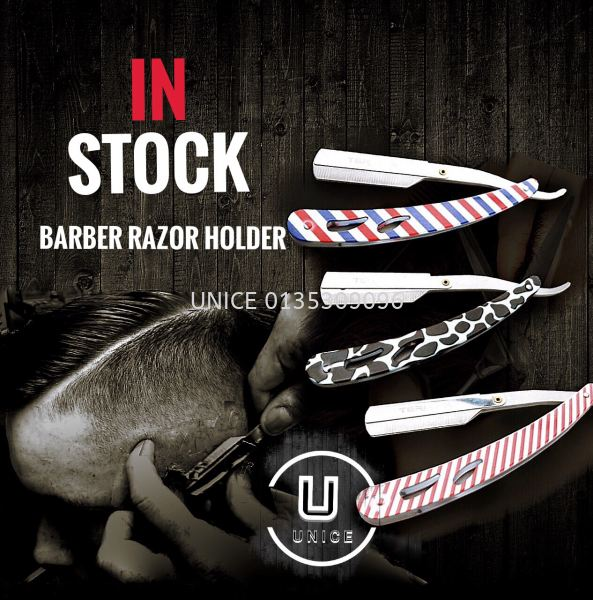 Barber Razor Holder BARBER ACCESSIORIES BARBER AND SALON TOOLS Johor Bahru JB Malaysia Supplier & Wholesaler | UNICE MARKETING SDN BHD