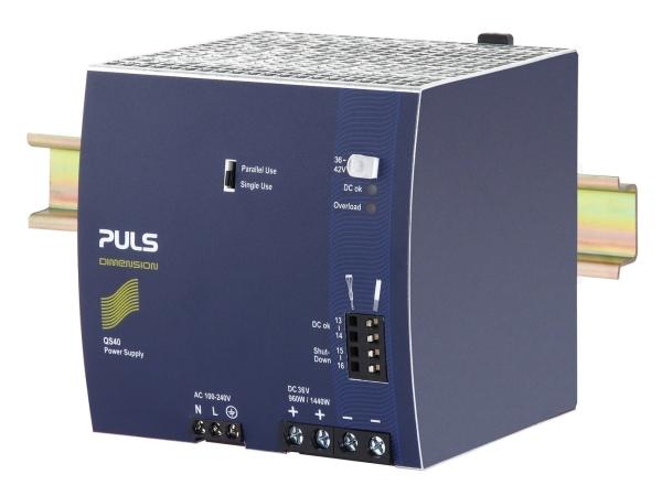 QS40.361 Q-SERIES-FULL FEATURED DIMENSION PULS POWER SUPPLIES Singapore  | Futron Electronics Pte Ltd