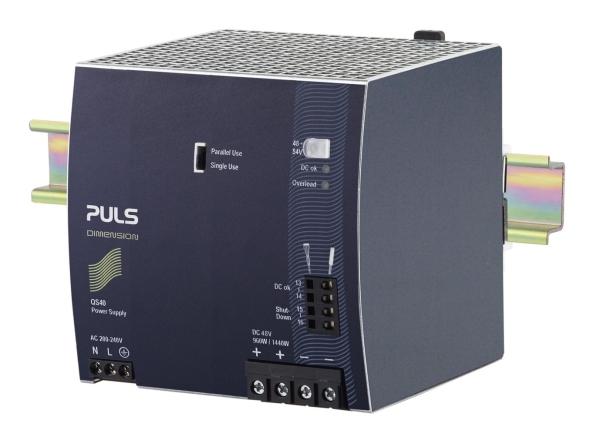 QS40.484 Q-SERIES-FULL FEATURED DIMENSION PULS POWER SUPPLIES Singapore    Futron Electronics Pte Ltd