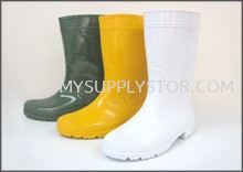 Wellington Water Boot White  Disposable  Face Mask, Hair Net, Shoe Cover , Arm Sleeve , PVC Boot Shoe Johor Bahru (JB), Malaysia Supplier, Supply, Supplies, Wholesaler | Mysupply Global Trading PLT
