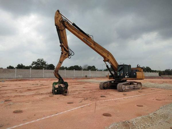 Proposed Car Battery Manufacturing Plant at Kuantan Integrated Industrial Park Sheet Piling Project References Johor Bahru (JB), Malaysia, Ulu Tiram Supplier, Rental, Equipment, Machinery   Ecotrans Construction & Heavy Machinery Sdn Bhd