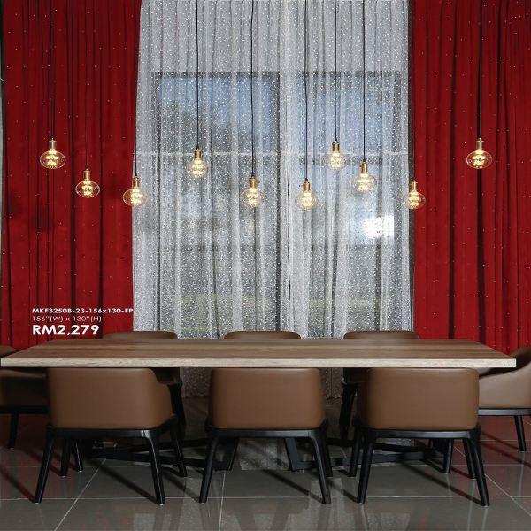 "M Reforma Custom Made French Pleat Curtain (51""-60"" w x 106"" h) Blackout Curtain Curtain Selangor, Malaysia, Kuala Lumpur (KL), Klang Supplier, Suppliers, Supply, Supplies 
