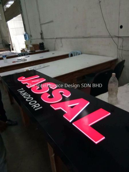 shopping mall LED Conceal Box Up Lettering Selangor, Malaysia, Kuala Lumpur (KL), Puchong Manufacturer, Supplier, Supply, Supplies | The Intelligence Design Sdn Bhd