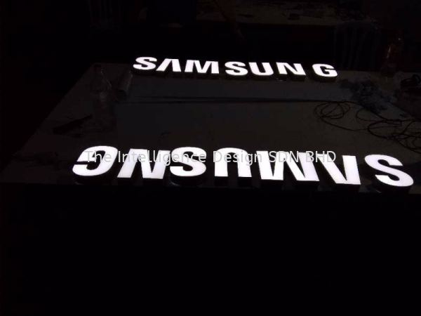 samsung Crystal clear surface embossed 3D LED Lettering Selangor, Malaysia, Kuala Lumpur (KL), Puchong Manufacturer, Supplier, Supply, Supplies   The Intelligence Design Sdn Bhd