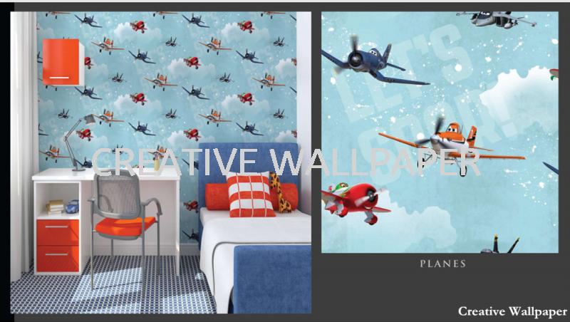 70-237 planes G & B - Kids @ Home - 2017 Germany Wallpaper - Size: 53cm x 10m Kedah, Alor Setar, Malaysia Supplier, Supply, Supplies, Installation   Creative Wallpaper