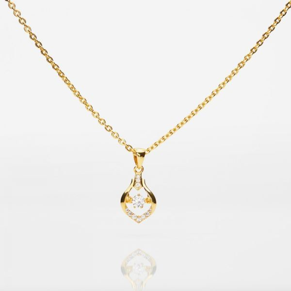 Heartbeat Pendant (916 Gold) Pendant Gold Collection Malaysia, Johor Bahru (JB), Iskandar Puteri Supplier, Suppliers, Supply, Supplies | Belle Cerise Jewellery Sdn Bhd