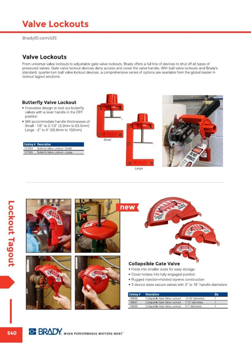 Valve Lockout Others Lockout Tagout Malaysia, Johor Bahru (JB) Supplier, Suppliers, Supply, Supplies | GMO Solution Sdn. Bhd.