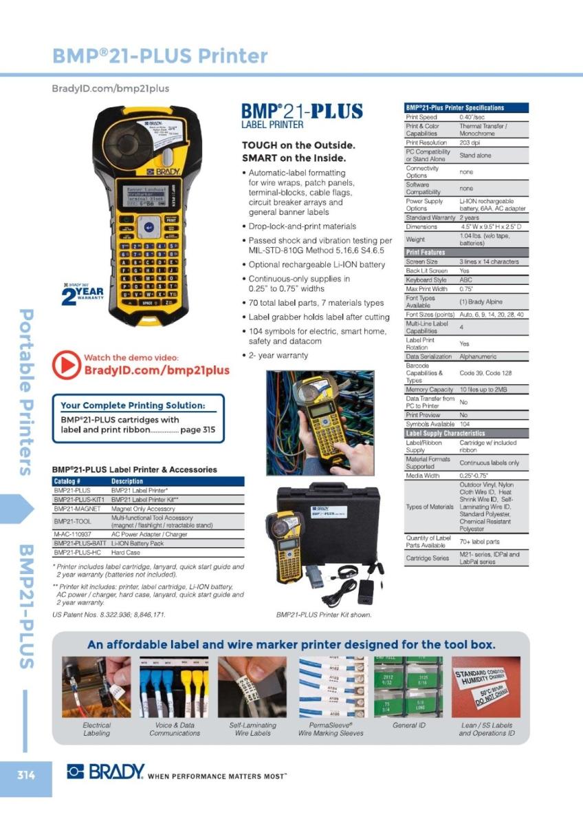 BMP21 Plus Brady Portable Printers Malaysia, Johor Bahru (JB) Supplier, Suppliers, Supply, Supplies   GMO Solution Sdn. Bhd.