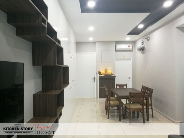 Living Area T.V Cabinets / Consoles Penang, Malaysia, Bayan Lepas Kitchen, Design | Kitchen Story Sdn Bhd