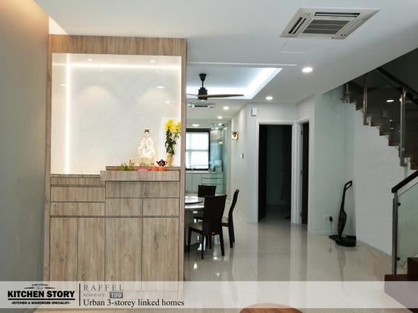 Altar Cabinet Altar Cabinets Penang, Malaysia, Bayan Lepas Kitchen, Design | Kitchen Story Sdn Bhd