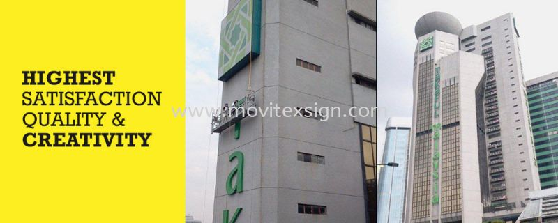 Fabrication , Repair, Installation Services  High Rise Signboard  Johor Bahru (JB), Johor, Malaysia. Design, Supplier, Manufacturers, Suppliers | M-Movitexsign Advertising Art & Print Sdn Bhd