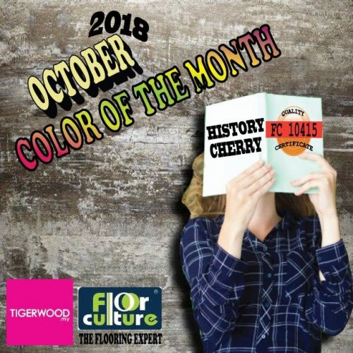 [October 2018] Color Of The Month- FC 10415 History Cherry