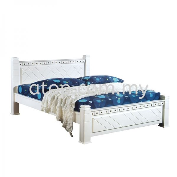 Atop ATN 958WH Bed Frame 2017 SERIES Queen Size Bed Frame (5ft) Malaysia, Selangor, Kuala Lumpur (KL), Rawang Manufacturer, Maker, Supplier, Supply | Atop Trading Sdn Bhd