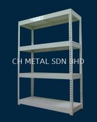 Simple Metal Rack (150-200kgs & Shelve)