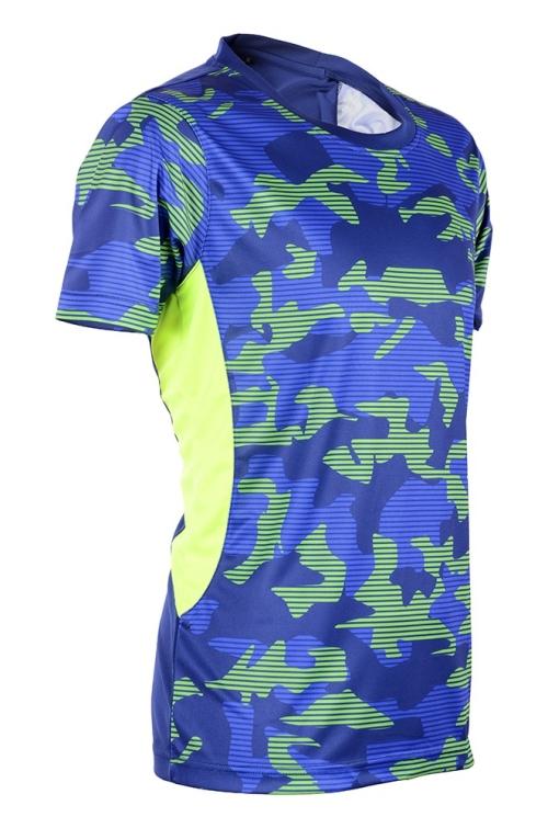 MOR39 Neon-Tech Camouflage Design