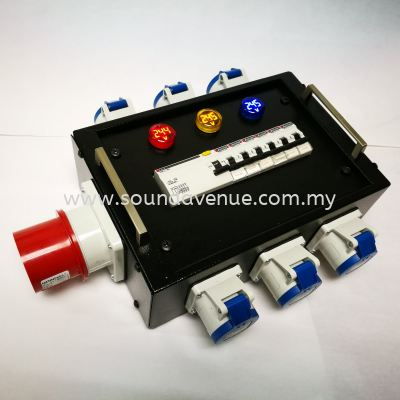 32A/5P Three Phase Power DB Turtle With Voltage Indicator