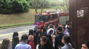 Fire at Ngee Ann City triggers evacuation of shoppers, office workers
